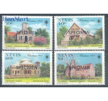 Znaczek Nevis 1985 Mi 336-339 Czyste **