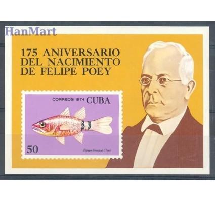 Znaczek Kuba 1974 Mi bl 42 Czyste **