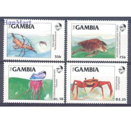 Znaczek Gambia 1984 Mi 544-547 Czyste **