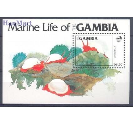 Znaczek Gambia 1984 Mi bl 12 Czyste **