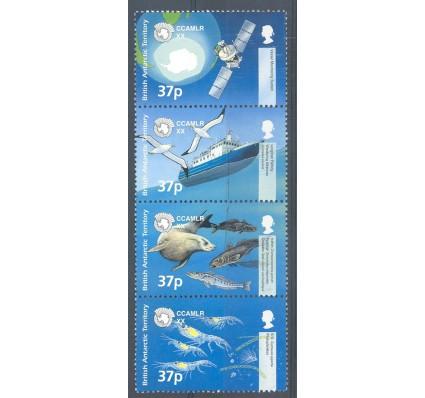 Znaczek Brytyjskie Terytorium Antarktyczne 2002 Mi 338-341 Czyste **