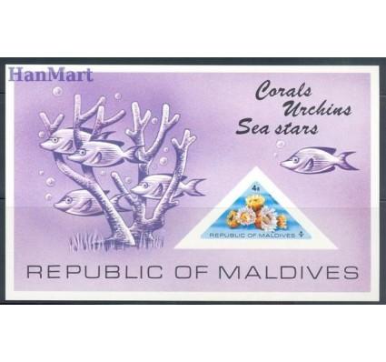 Znaczek Malediwy 1975 Mi bl 31 Czyste **
