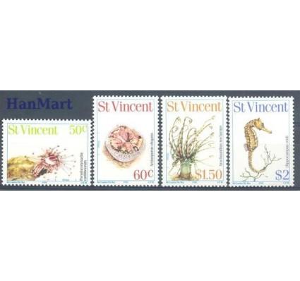 Znaczek St. Vincent 1983 Mi 647-650 Czyste **