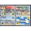 Kiribati 1983 Mi 417-420 Czyste **