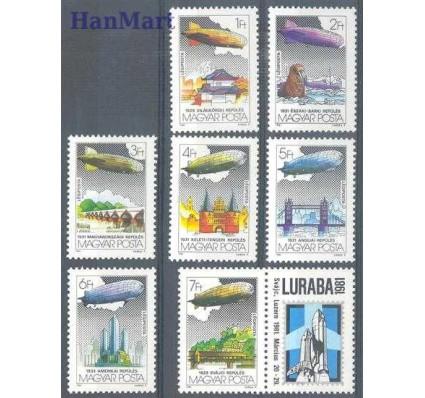 Znaczek Węgry 1981 Mi zf 3477-3483 Czyste **