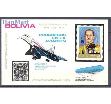 Znaczek Boliwia 1975 Mi bl 58 Czyste **