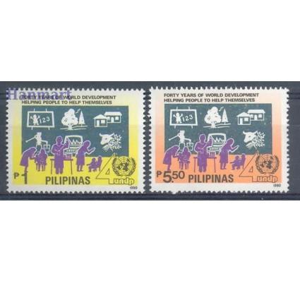 Znaczek Filipiny 1990 Mi 1991-1992 Czyste **