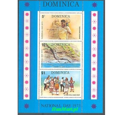 Dominika 1973 Mi bl 22 Czyste **