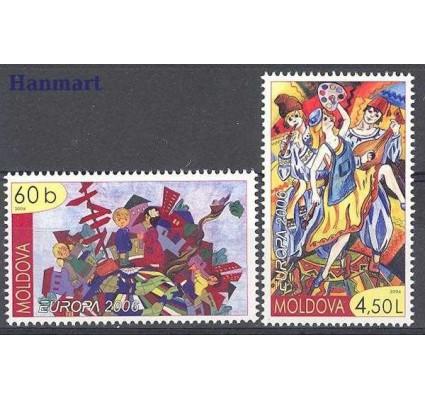 Znaczek Mołdawia 2006 Mi 549-550 Czyste **