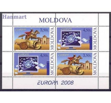 Znaczek Mołdawia 2008 Mi h-blatt 9 Czyste **