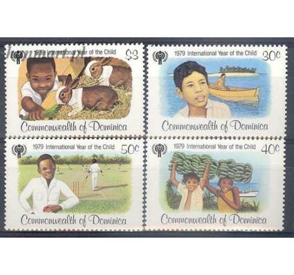 Znaczek Dominika 1979 Mi 625-628 Czyste **