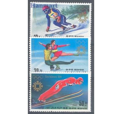 Znaczek Korea Północna 1983 Mi 2387-2389 Czyste **