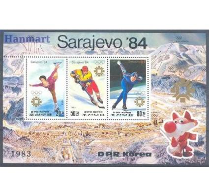 Znaczek Korea Północna 1983 Mi bl 150 Czyste **