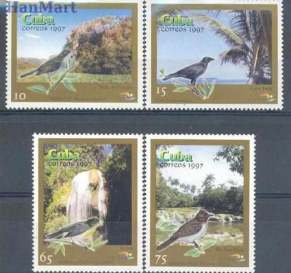 Znaczek Kuba 1997 Mi 4049-4052 Czyste **