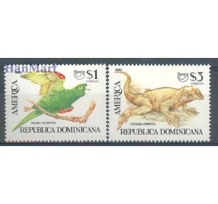 Znaczek Dominikana 1993 Mi 1684-1685 Czyste **