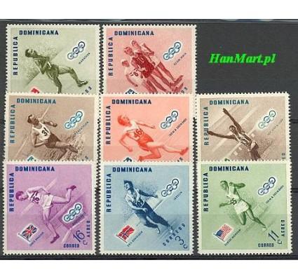 Dominikana 1957 Mi 585-592A Czyste **