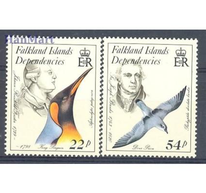 Znaczek Dependencja Falklandów 1985 Mi 139-141 Czyste **