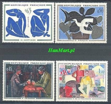 Znaczek Francja 1961 Mi 1372-1375 Czyste **