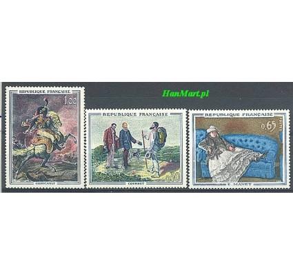 Francja 1962 Mi 1415-1417 Czyste **