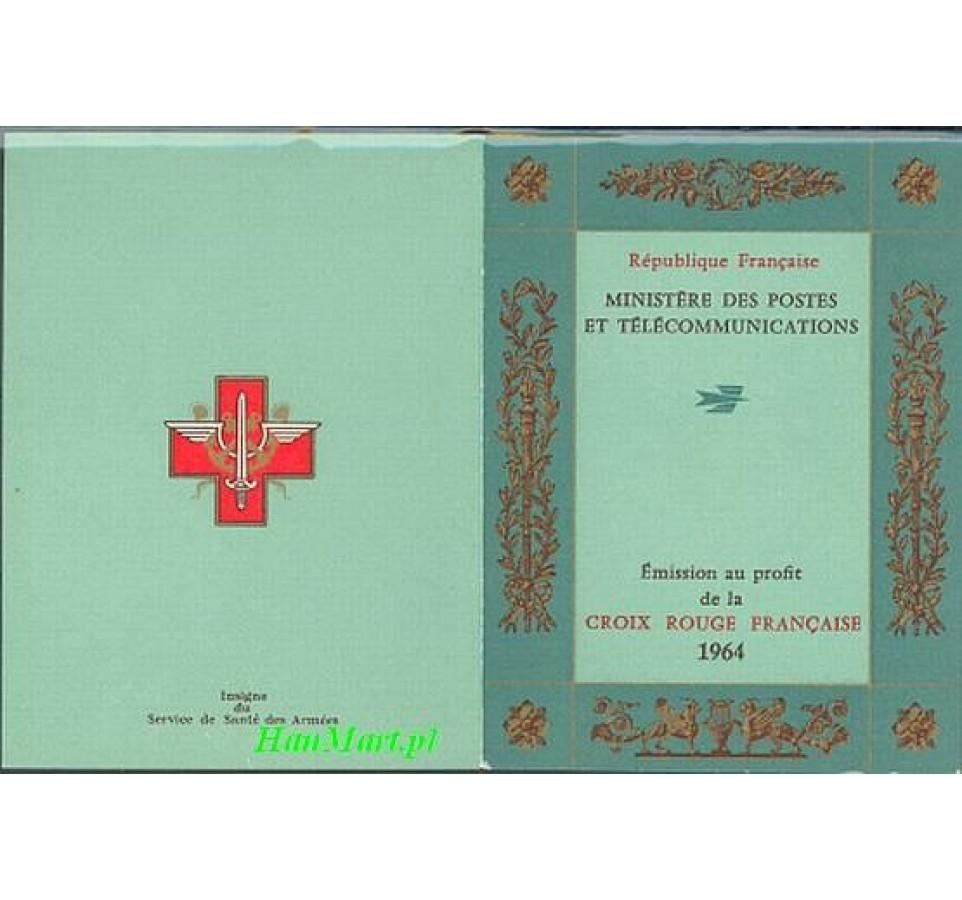 Francja 1964 Mi mh 1494-1495 Czyste **