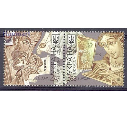 Znaczek Ukraina 2008 Mi 945-946 Czyste **