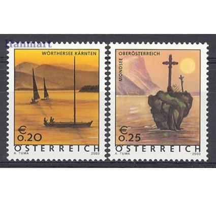 Znaczek Austria 2003 Mi 2438-2439 Czyste **