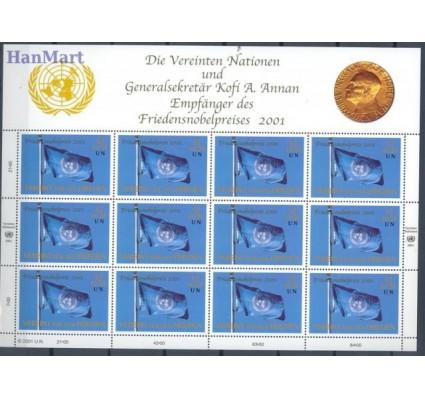 Znaczek Narody Zjednoczone Wiedeń 2001 Mi ark 350 Czyste **