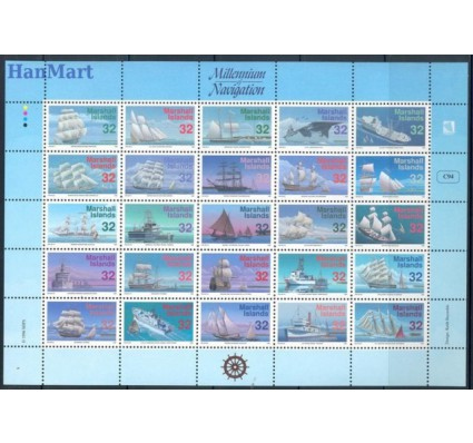 Znaczek Wyspy Marshalla 1996 Mi 683-707 Czyste **