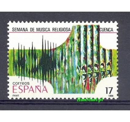 Znaczek Hiszpania 1986 Mi 2719 Czyste **