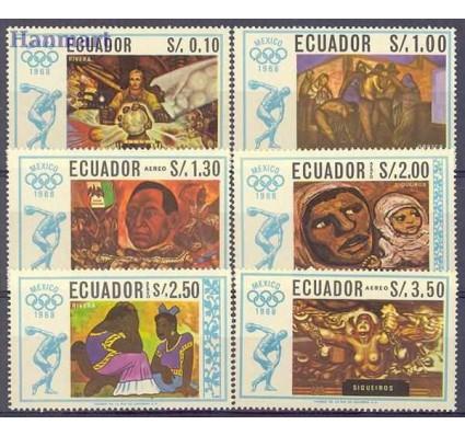 Znaczek Ekwador 1967 Mi 1313-1318 Czyste **