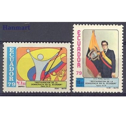 Znaczek Ekwador 1979 Mi 1814-1815 Czyste **