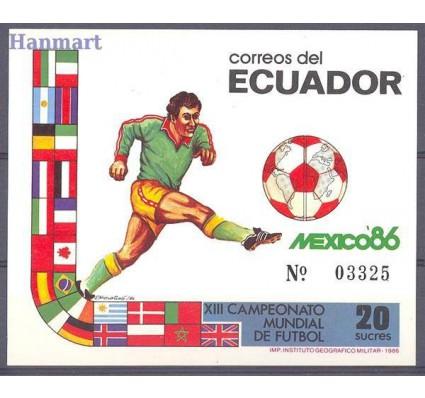 Znaczek Ekwador 1986 Mi bl 125 Czyste **