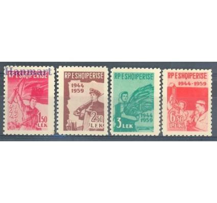 Znaczek Albania 1959 Mi 582-585 Czyste **