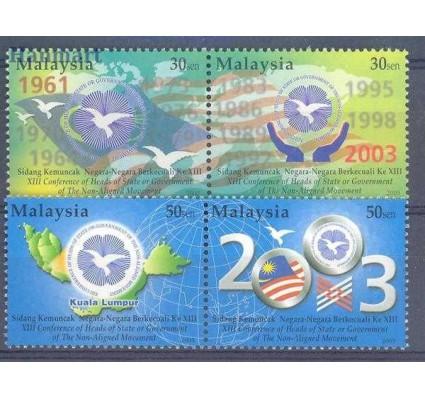 Znaczek Malezja 2003 Mi 1165-1168 Czyste **