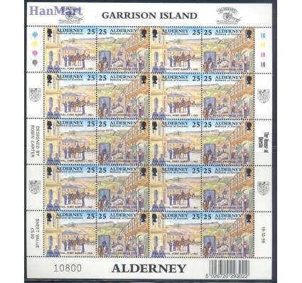 Znaczek Alderney 1999 Mi ark 108-115 Czyste **