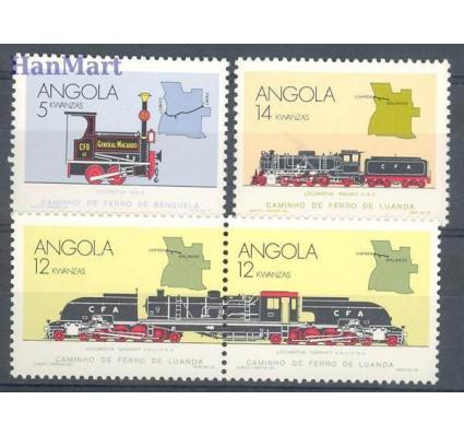 Znaczek Angola 1990 Mi 788-791 Czyste **