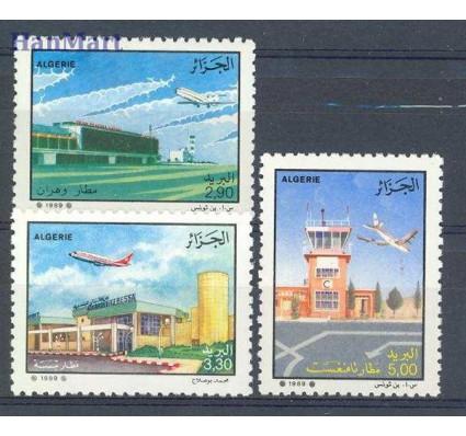 Znaczek Algieria 1989 Mi 989-991 Czyste **