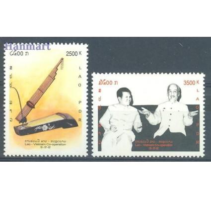 Znaczek Laos 2002 Mi 1818-1819 Czyste **