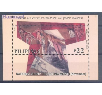 Znaczek Filipiny 2005 Mi bl 219 Czyste **