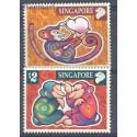 Singapur 2004 Mi 1296-1297 Czyste **