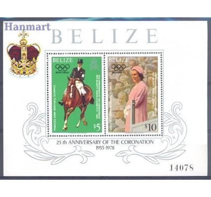 Znaczek Belize 1979 Mi bl 6 Czyste **