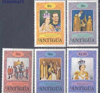 Znaczek Antigua i Barbuda 1978 Mi 504-508 Czyste **