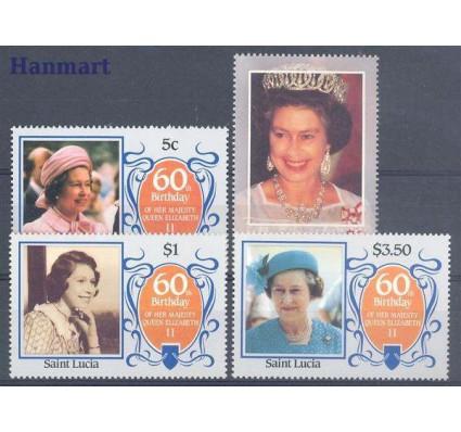 Znaczek Saint Lucia 1986 Mi 834-837 Czyste **