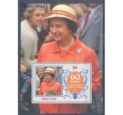 Znaczek Saint Lucia 1986 Mi bl 47 Czyste **