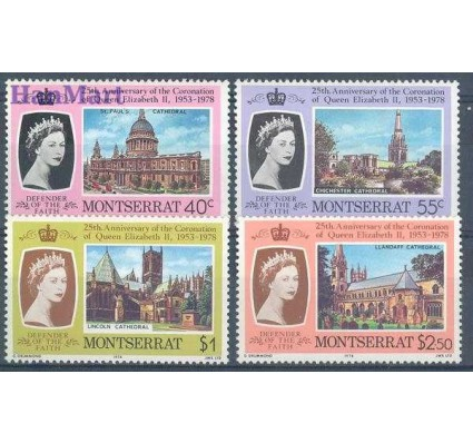 Znaczek Montserrat 1978 Mi 385-388 Czyste **
