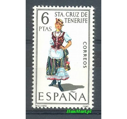 Znaczek Hiszpania 1970 Mi 1862 Czyste **