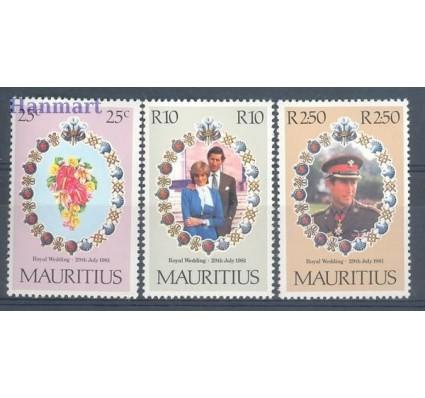 Znaczek Mauritius 1981 Mi 516-518 Czyste **