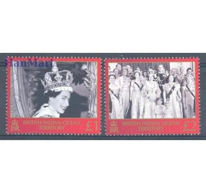 Znaczek Brytyjskie Terytorium Oceanu Indyjskiego 2003 Mi 311-312 Czyste **