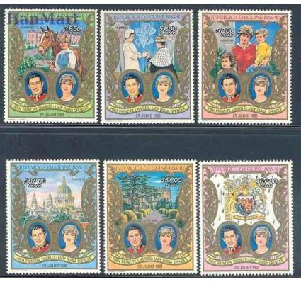 Znaczek Gwinea Bissau 1981 Mi 588-593 Czyste **