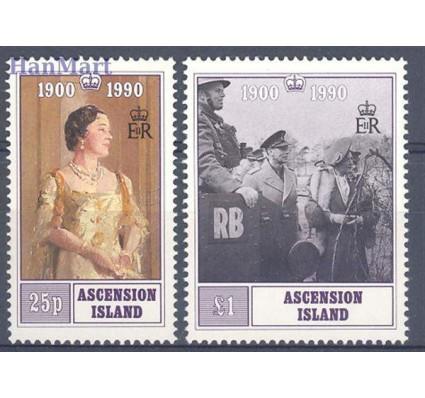 Znaczek Wyspa Wniebowstąpienia 1990 Mi 529-530 Czyste **